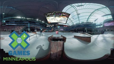 Virtual Reality: Skateboard Street AMs Highlights | X Games Minneapolis 2017 - X Games