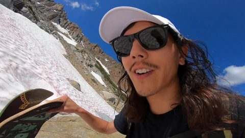 VLOG Summer Hike & Snowskate Above 10,000ft with Spencer Nuzzi & Friends | ihatespencernuzzi