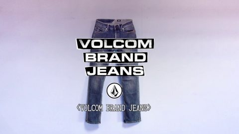 Volcom Brand Jeans - 25 Years of R&D - Designed for Skateboarding, Recommended for Life (日本語字幕) | VOLCOMJAPAN