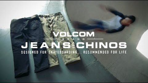 VOLCOM BRAND JEANS & CHINOS 2018 With Japan Skate Team | VOLCOMJAPAN