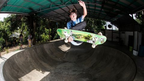 Volcom Latin America Skate Team Hits Costa Rica - Jungle Vacation - Volcom