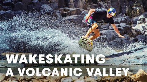Wakeskating A Volcanic Valley In The Jordanian Desert With Brian Grubb | Red Bull