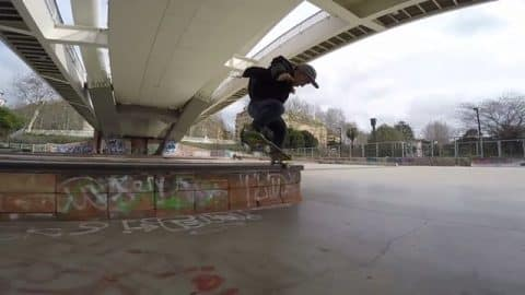 Walk the line - Petar Stantchev - Vimeo / share skateboarding's videos