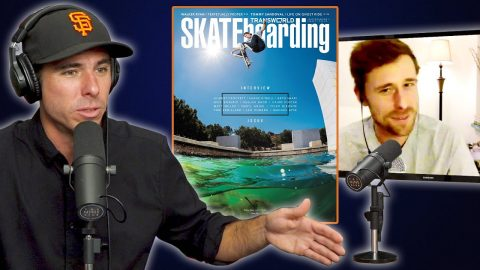 Walker Ryan Switch Tre Flips The Water Gap For The Cover Of Transworld!! | Nine Club Highlights