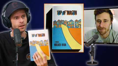 "Walker Ryan Talks About His Novel ""Top Of Mason"" • A Book About Skateboarding! 