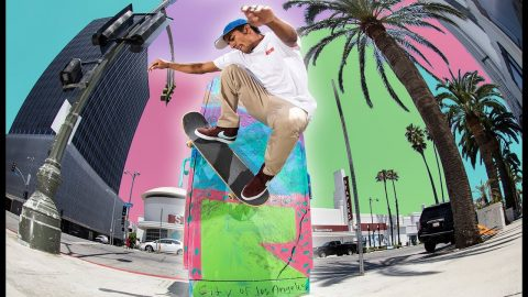 Wallrides And Street Art In Los Angeles | Mario Realegeno | The Berrics