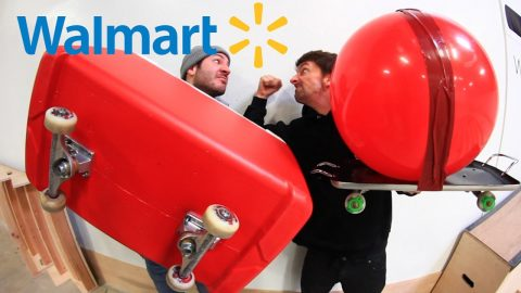 WALMART EDITION | SKATE EVERYTHING WARS EP 4 - Braille Skateboarding