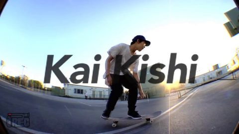 Warming up with Kai Kishi ! | IREC SKATEBOARDING