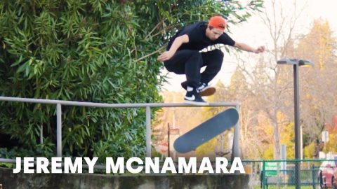 Watch DLX Jeremy McNamara's Exclusive Skate Video Edit | Checkout | Red Bull