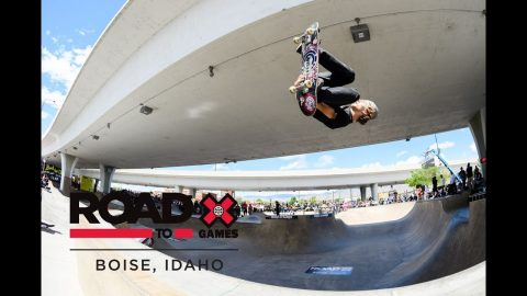 WATCH LIVE: Men's Skate Park Final at Road to X Games: Boise Park Qualifier 2018 | X Games
