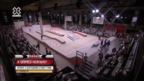 WATCH LIVE: Men's Skate Street Round One and Women's Skate Street Final at X Games Norway 2018 - X Games