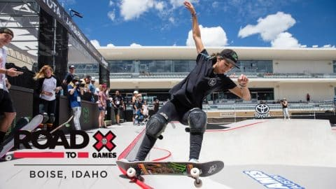 WATCH LIVE: Women's Skateboard Park Final | Road to X Games Boise Qualifier - X Games