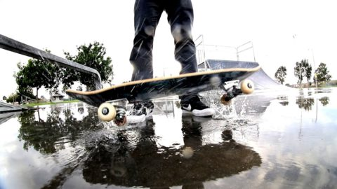 WATERLOGGED SKATEBOARD SESH - Luis Mora
