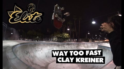 Way Too Fast! Clay Kreiner | Elite Urethane | OJ Wheels