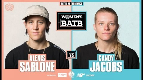 WBATB | Alexis Sablone vs. Candy Jacobs - Round 2 | The Berrics