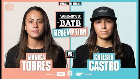 WBATB | Redemption Battle: Monica Torres vs. Chelsea Castro - Round 2 | The Berrics