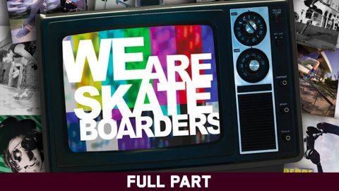 We Are Skateboarders - Full Part - Skating is a Release | Echoboom Sports