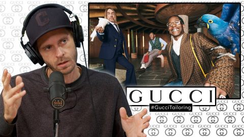 """We React To Gucci's Tailoring Campaign Directed By Harmony Korine (Wrote Movie """"Kids"""")   Nine Club Highlights"""