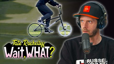 "We Review Tate Roskelley's ""Wait, What?"" GT BMX Part 
