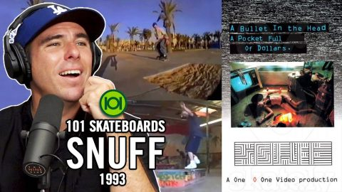 """We Review The 101 Skateboards """"Snuff"""" Video from 1993! 