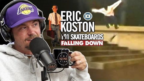 "We Talk About Eric Koston's 101 ""Falling Down"" Part 
