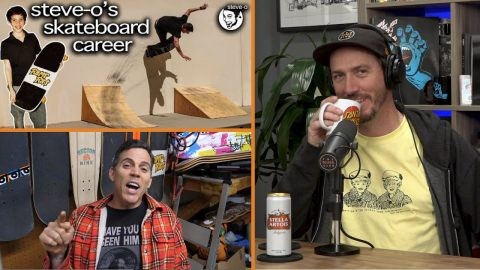 "We Talk About ""The Untold Story Of Steve-O's Skateboarding Career"" 