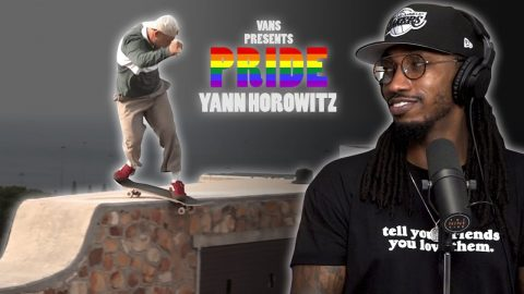 "We Talk About Yann Horowitz's ""Pride: Coming Out Day Story"" Vans Part 