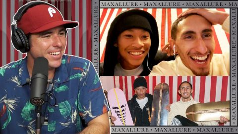 We Watch LIVE As Lil Dre and Jonathan Perez Turn Pro For Maxallure Skateboards!!!!   Nine Club Highlights