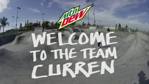 Welcome Curren Caples | Mountain Dew - Mountain Dew