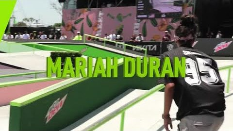 Welcome Mariah Duran | Mountain Dew | Mountain Dew