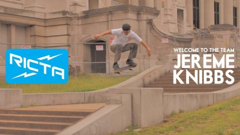 Welcome To The Team - Jereme Knibbs | Ricta Wheels