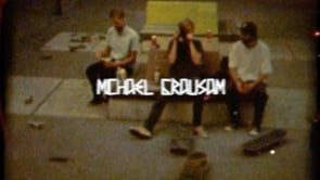 WELCOME TO THE TEAM - MICHAEL GRAUSAM | Nostalgia Skateboards