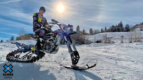 Wendy's Snow BikeCross Course Preview with Brock Hoyer | X Games Aspen 2020 | X Games