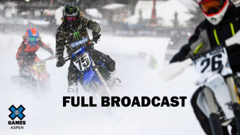 Wendy's Snow BikeCross: FULL BROADCAST | X Games Aspen 2020 | X Games