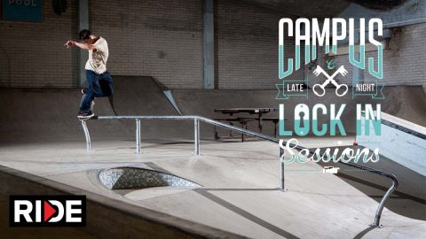 Wes Kremer  - Campus Lock in Session - Volcom - RIDE Channel