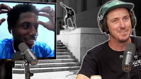 What Did Ishod Wair Want To Try On The Oakland Courthouse Ledge?? | Nine Club Highlights