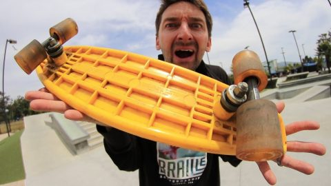 WHAT IS A FREEFORMER?!?! - Braille Skateboarding