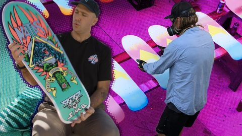 """WHAT is IN the Natas Blind Bags?! """"Unboxing"""" with Santa Cruz Skateboards 