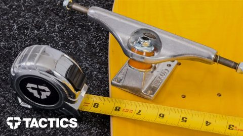 What Size Skateboard Trucks? | Skateboard Buying Guide - Tactics | Tactics Boardshop