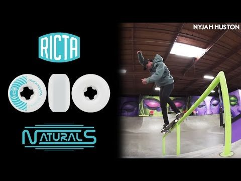 What wheels does Nyjah Huston ride? Pro Ricta Naturals - Ricta Wheels
