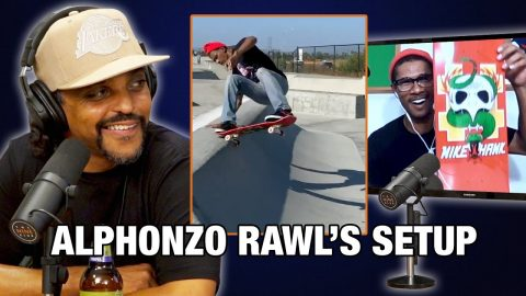 Whats Alphonzo Rawls' Board Setup? | Nine Club Highlights