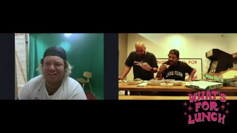 WHAT'S FOR LUNCH with Ben Hundreds Ep. 3: Jon & Vinny's and Matty Matheson | THE HUNDREDS