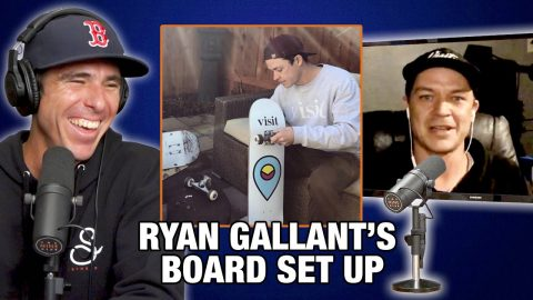 What's Ryan Gallant's Board Setup? | Nine Club Highlights