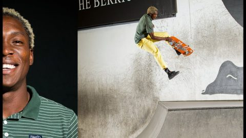 Where The Hell Did This Guy Come From?! | Leandre Sanders | The Berrics