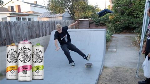 White Boy, White Claws, No Laws *Mini Ramp* | Lamont Holt