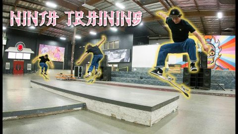 Who's Got The Quickest French Flick?! | Ninja Training | The Berrics