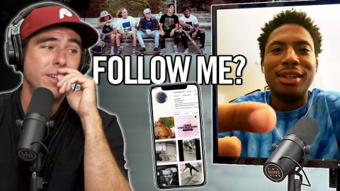 Why Do People Ask You To Follow Them On Instagram?! - Ishod Wair | Nine Club Highlights