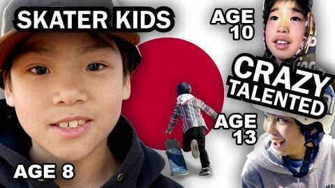 WHY KIDS IN JAPAN ARE TOO GOOD AT SKATING - Luis Mora