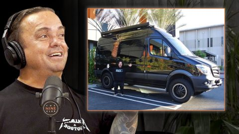 Why Wee Man Went Full Van Life For A Month Driving Across The US?   Nine Club Highlights