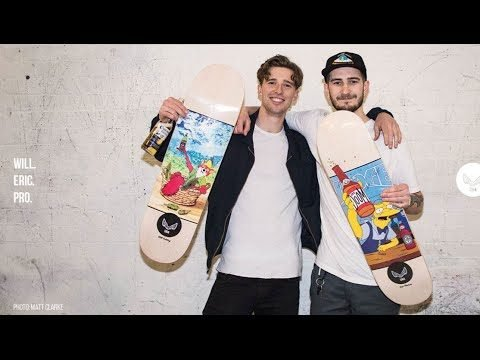 Will and Eric are Pro for Unabomber Skateboards. - getlesta